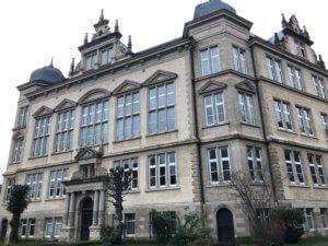 Schule am Botanischen Garten, formerly Städtisches Gymnasium, Hann. Münden