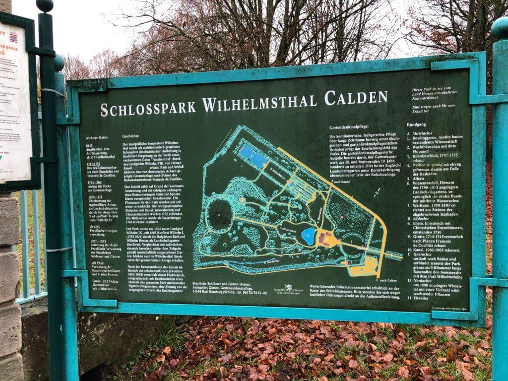 Schloßpark Wilhelmsthal, Calden