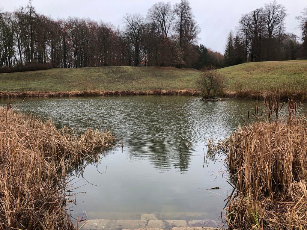 Weiher, Schloßpark Wilhelmsthal, Calden
