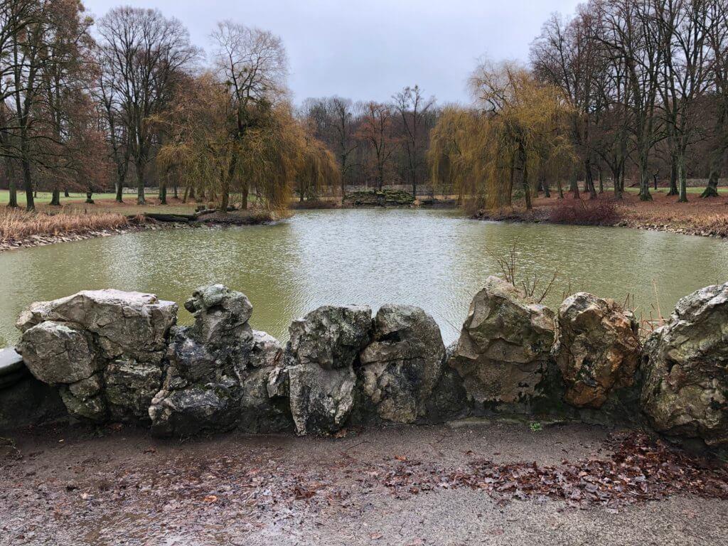 Ententeich, Schloßpark Wilhelmsthal, Calden