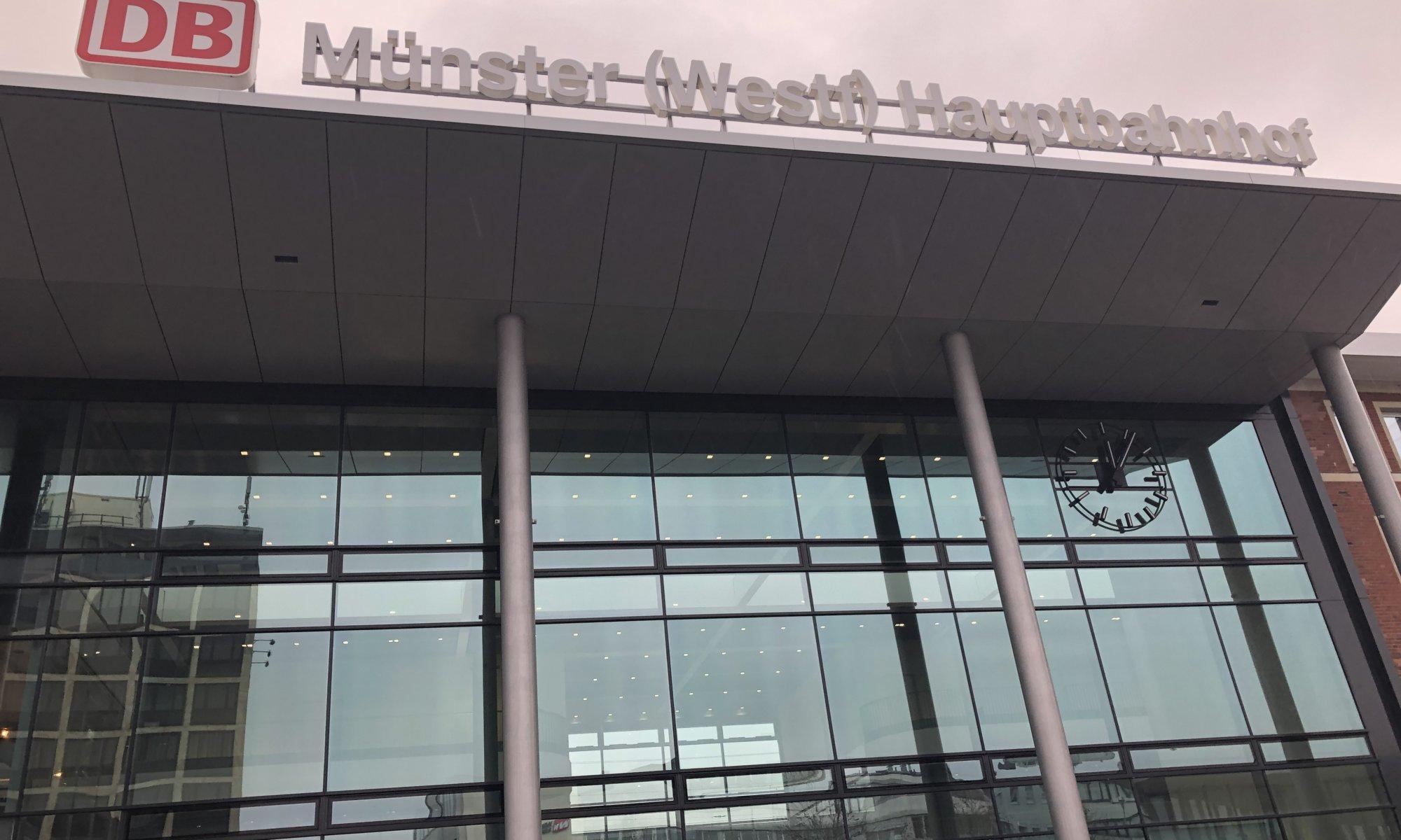 Hauptbahnhof, Münster in Westfalen