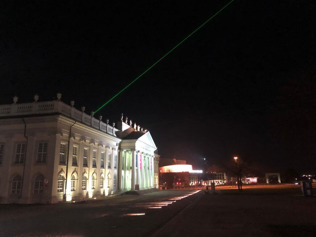 Laserscape, Kassel