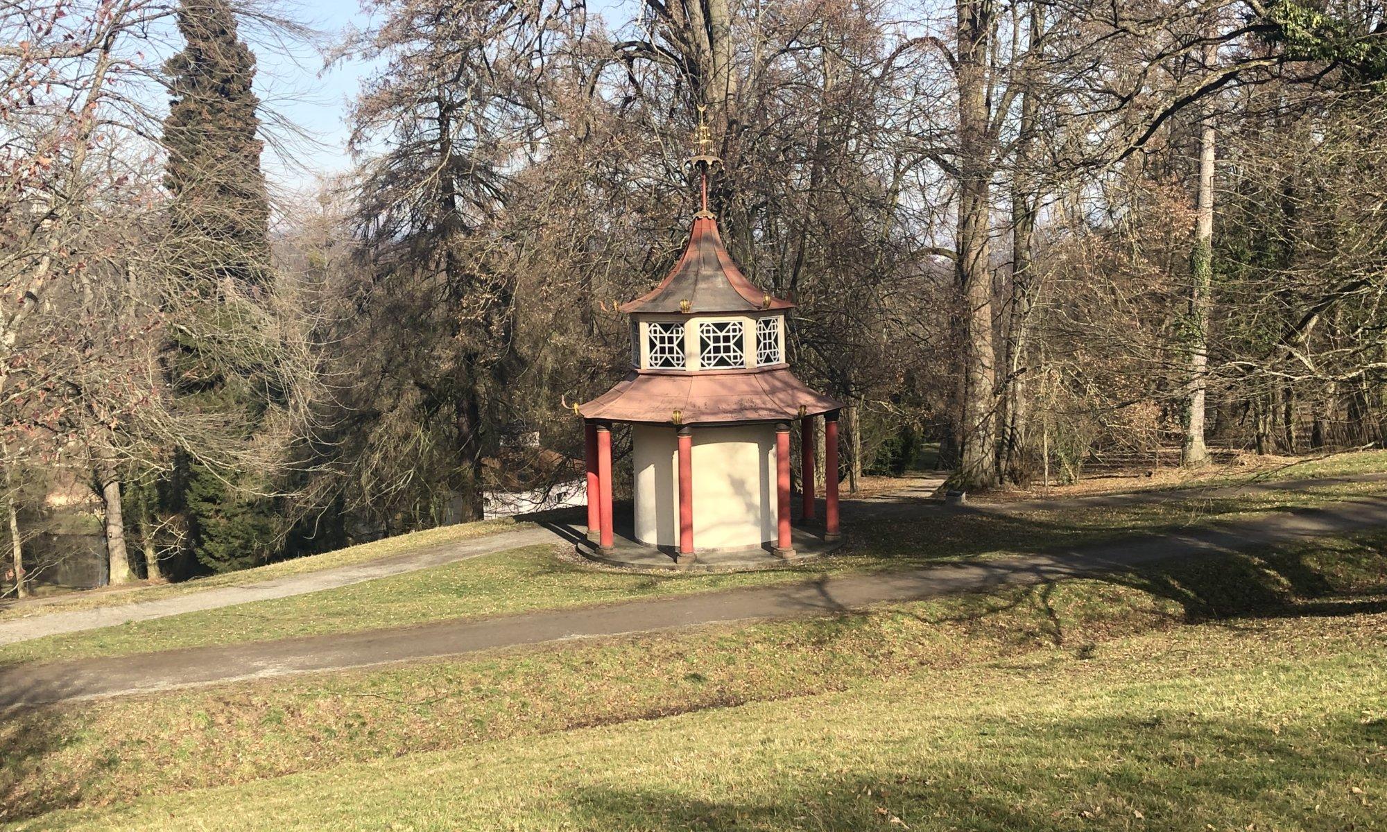 Mulang-Pagode, Bergpark Wilhelmshöhe, Kassel