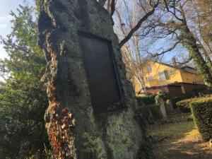 Grave of Karl Friedrich Steinhofer, Friedhof Schloßpark, Mulang, Kassel