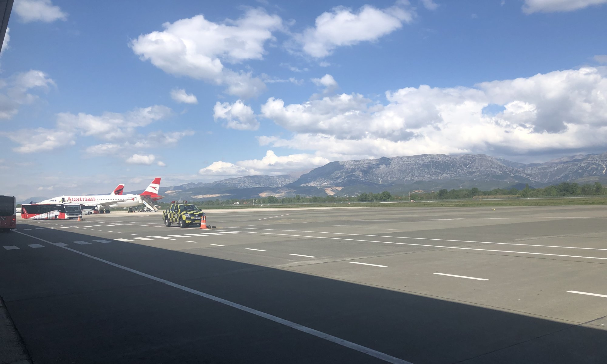 Mother Teresa airport, Tirana