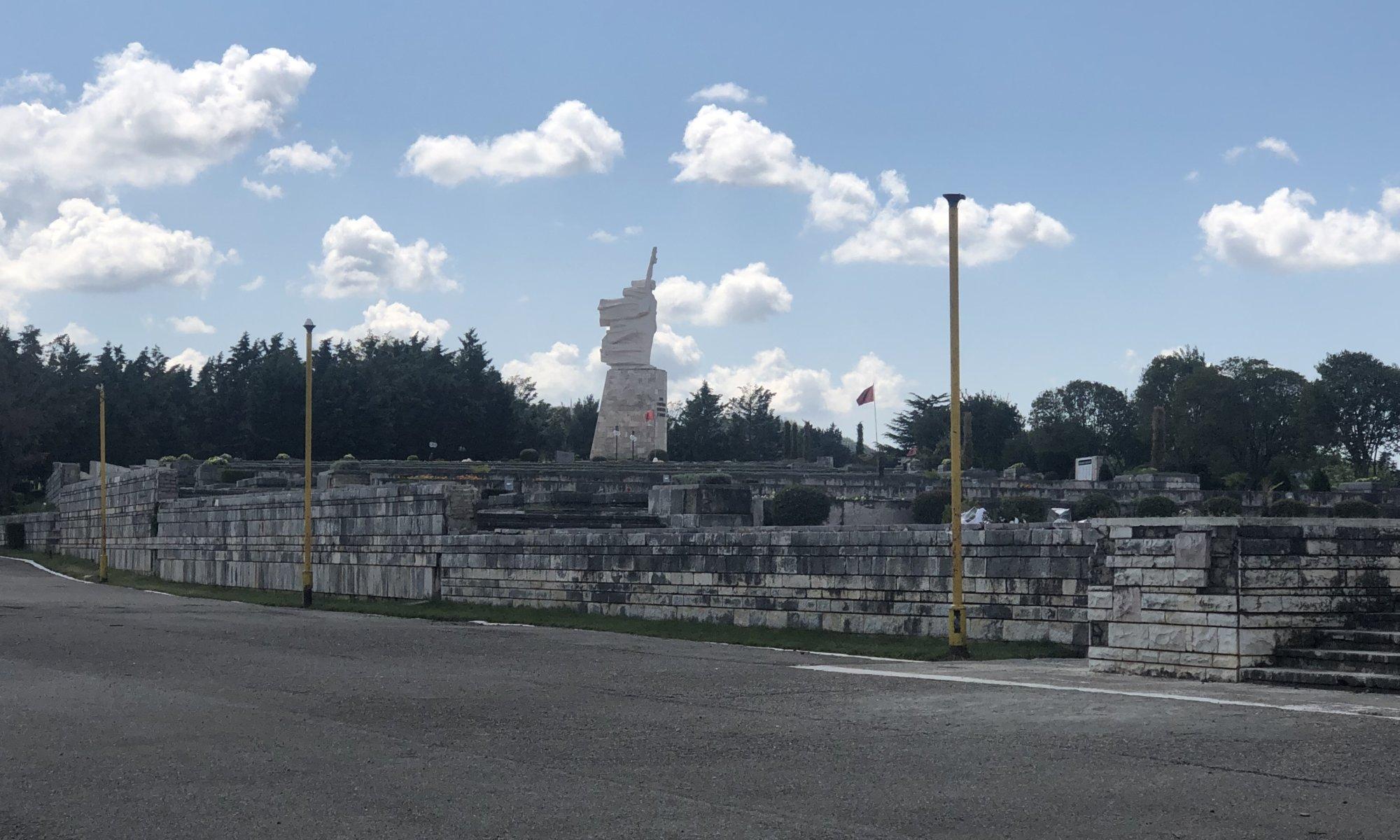 Martyr's cemetery, Tirana