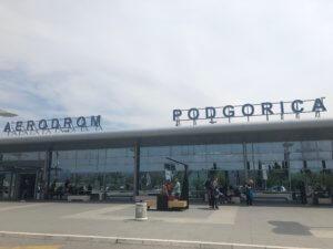 Aerodrom Podgorica (TGD), Montenegro