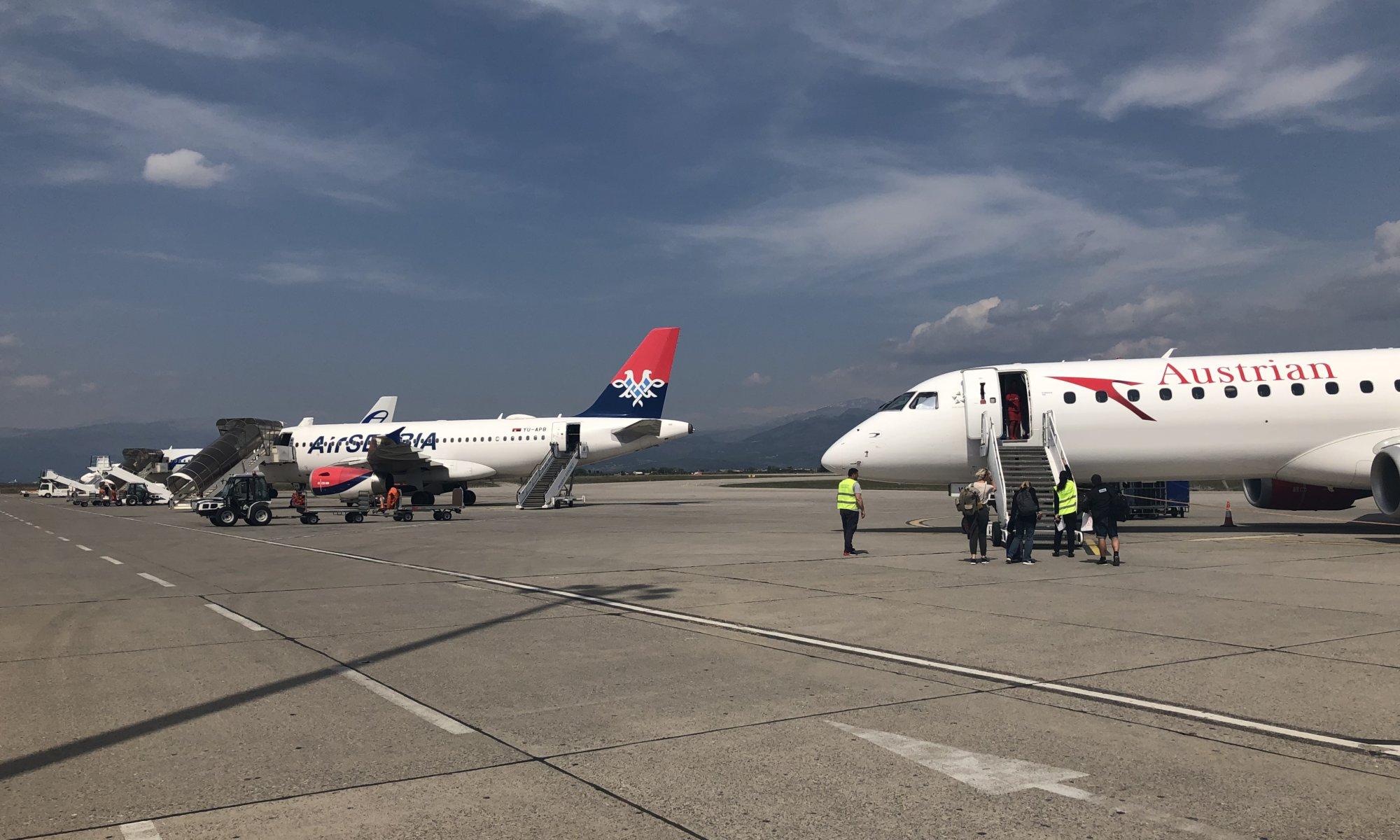 Aerodrom Podgorica, Montenegro