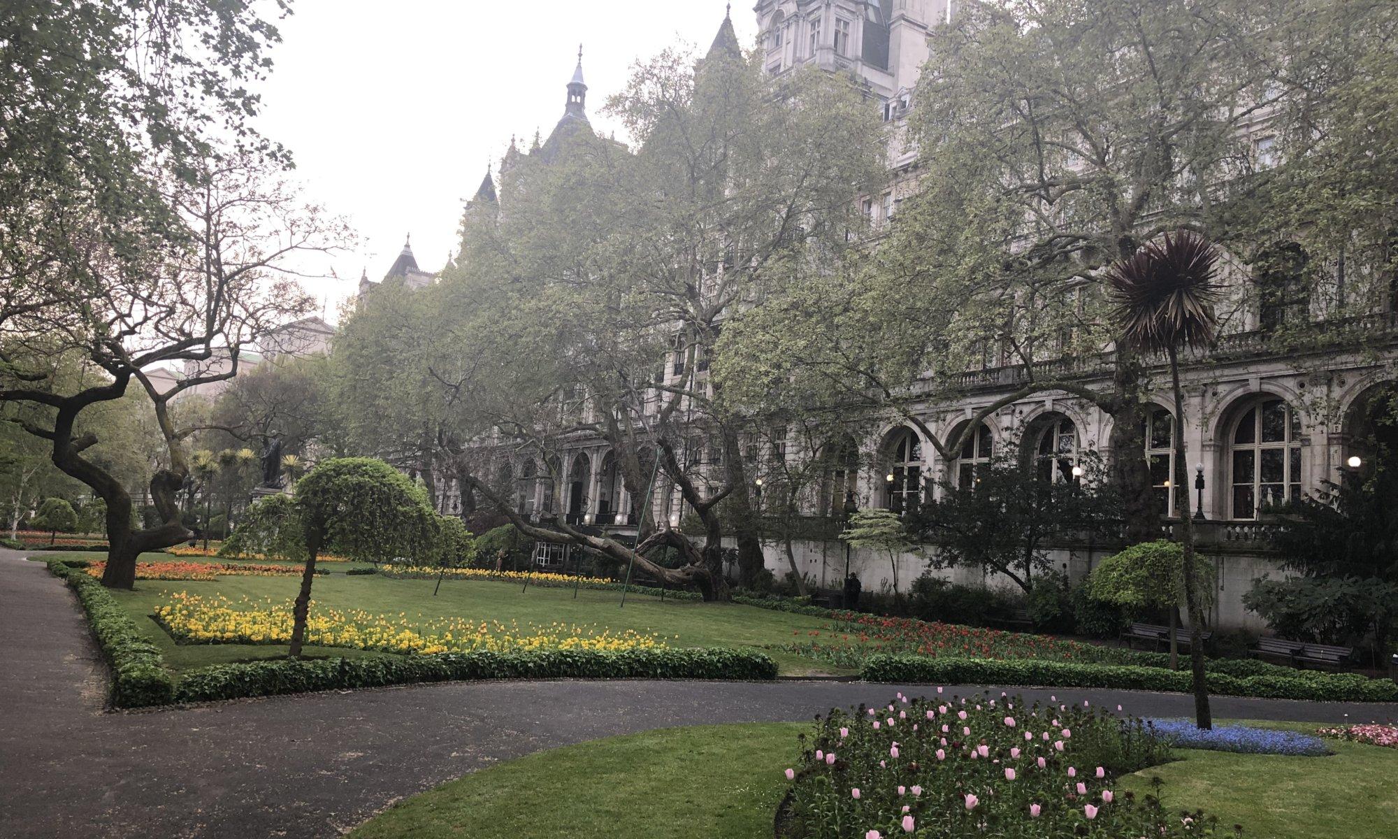 Whitehall Gardens, London