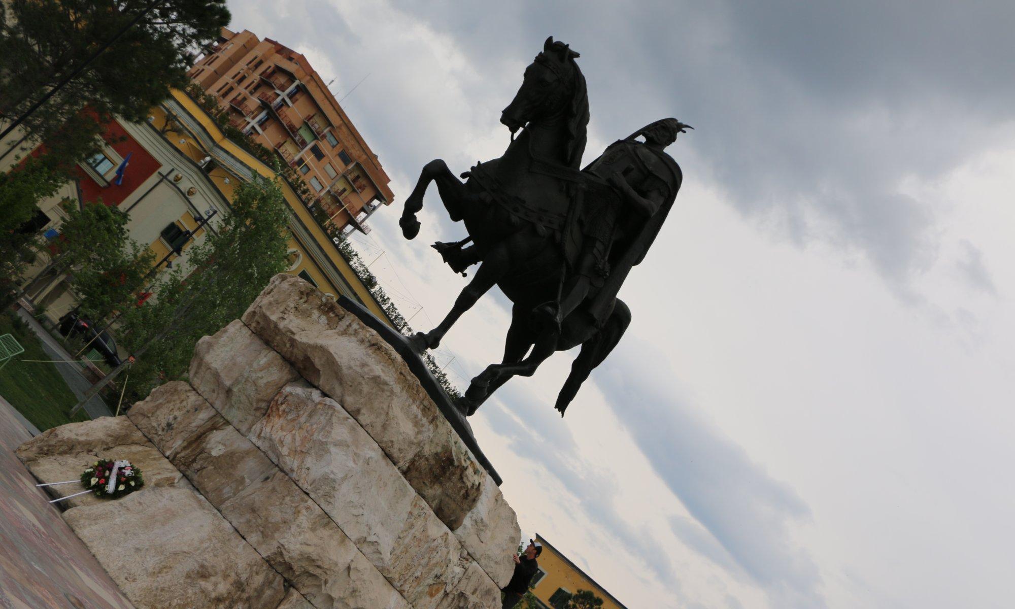 Skanderberg memorial, Tirana