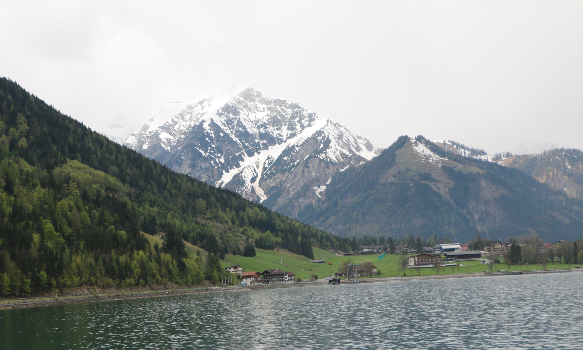 Mountains around Achensee, Austria