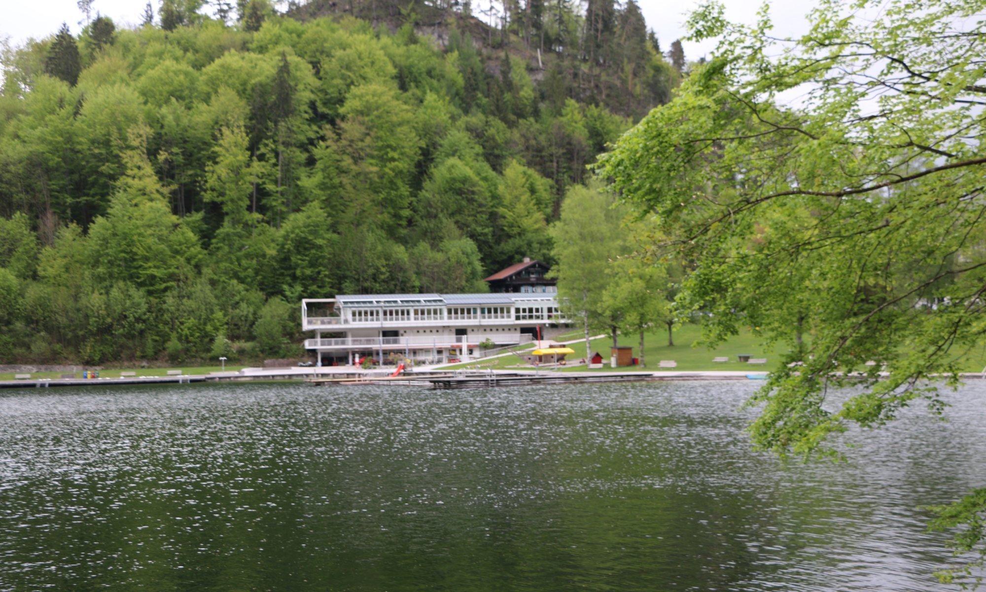 Seearena, Hechtsee, Kiefersfelden