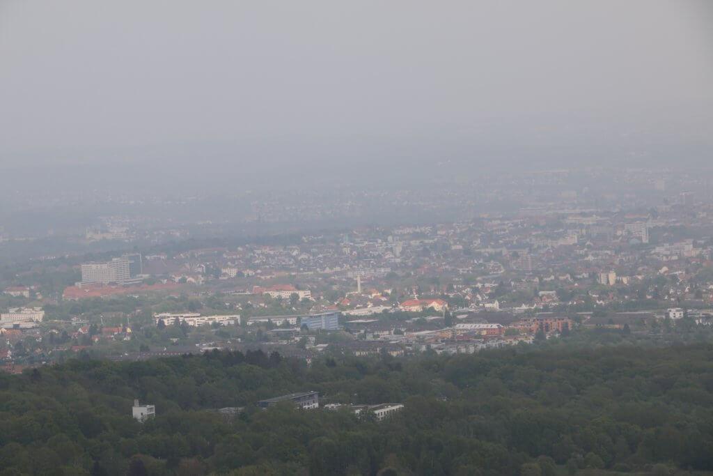 View from Bismarckturm, Kassel