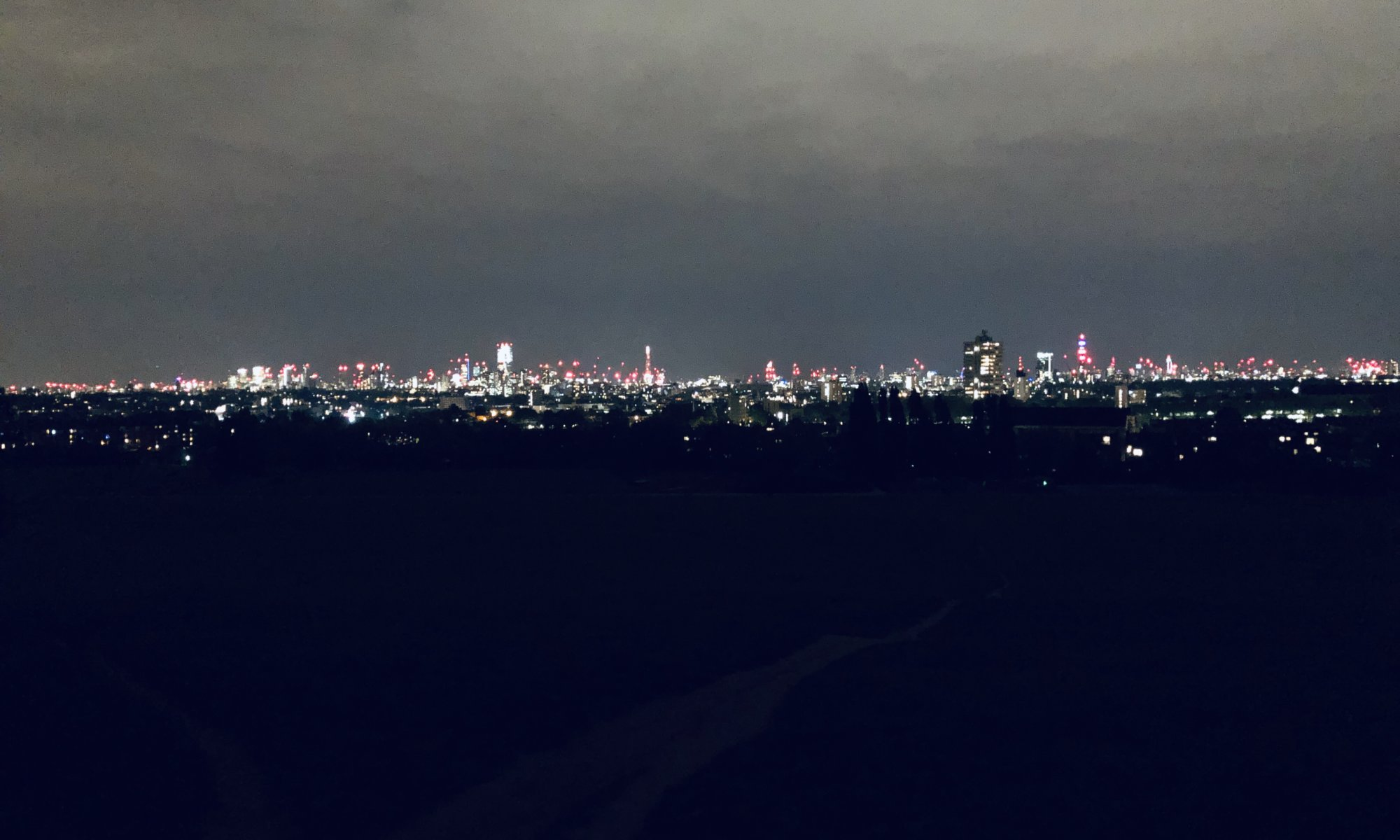 London from Parliament Hill, Hampstead Heath