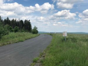 Abandoned road, Fuldatal