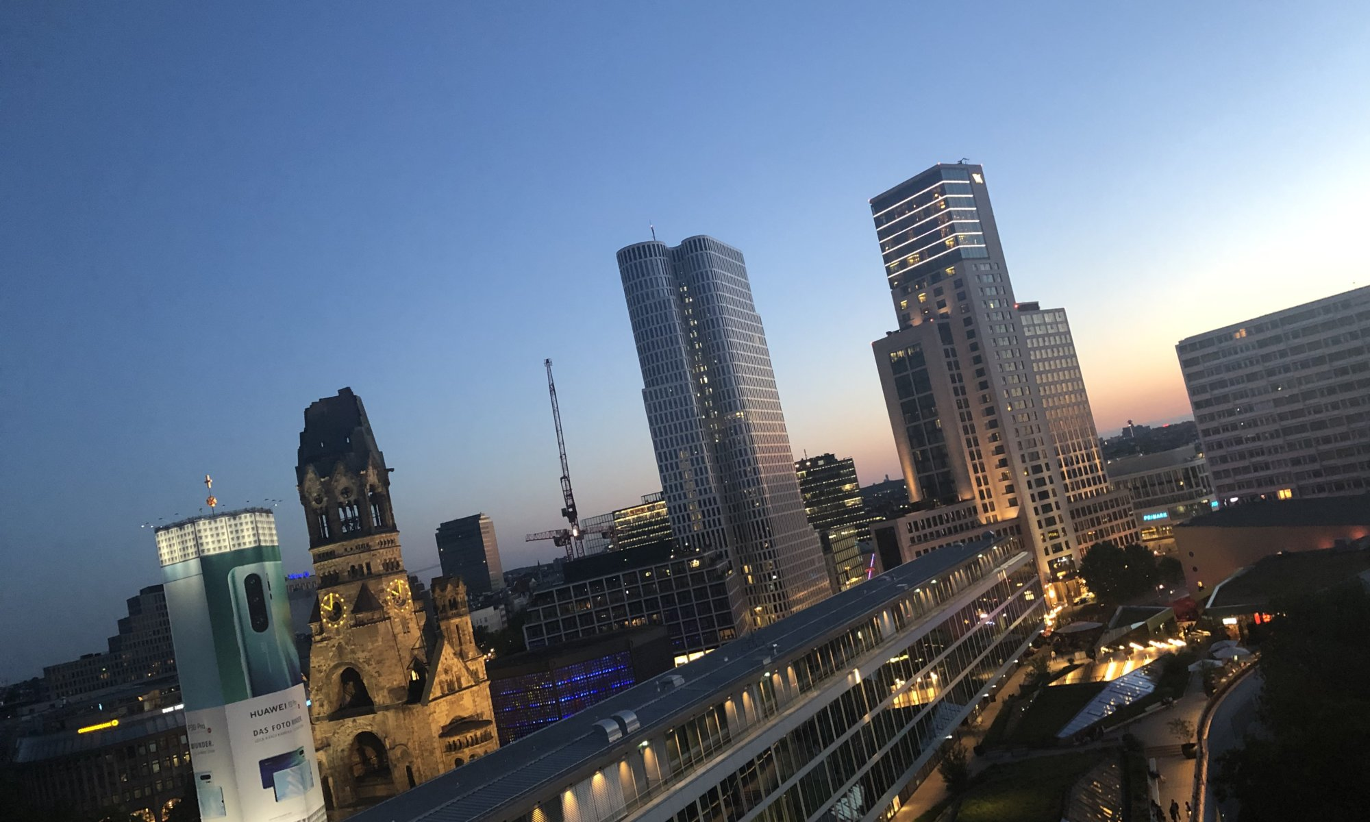 View from Monkey Bar, Berlin