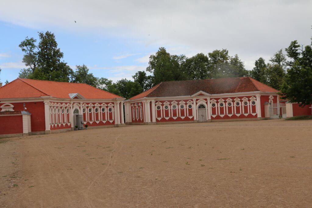 Rundāles pils, Latvia