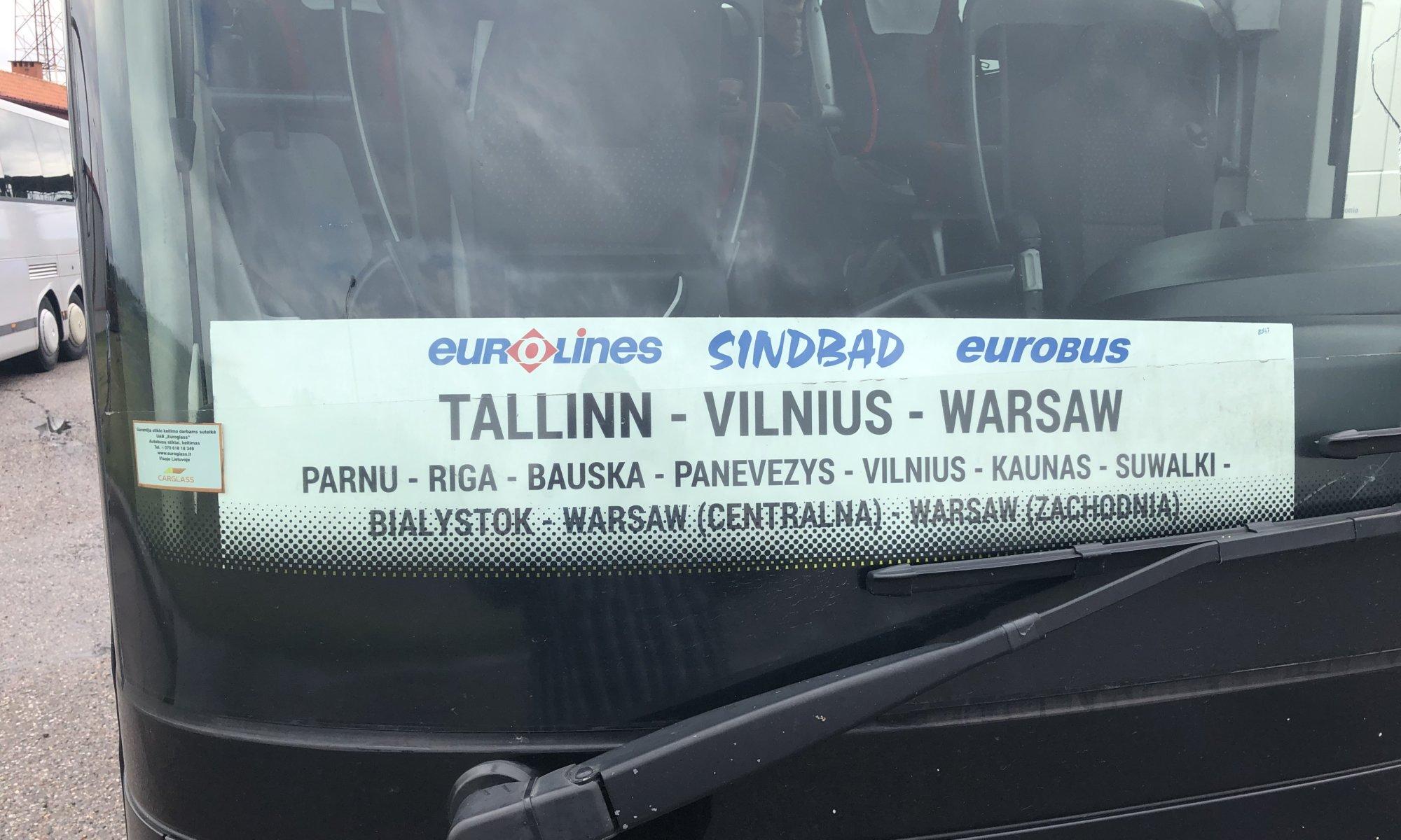 Tallinn to Rīga