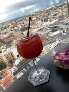Sky bar at Hotel Latvia, Rīga