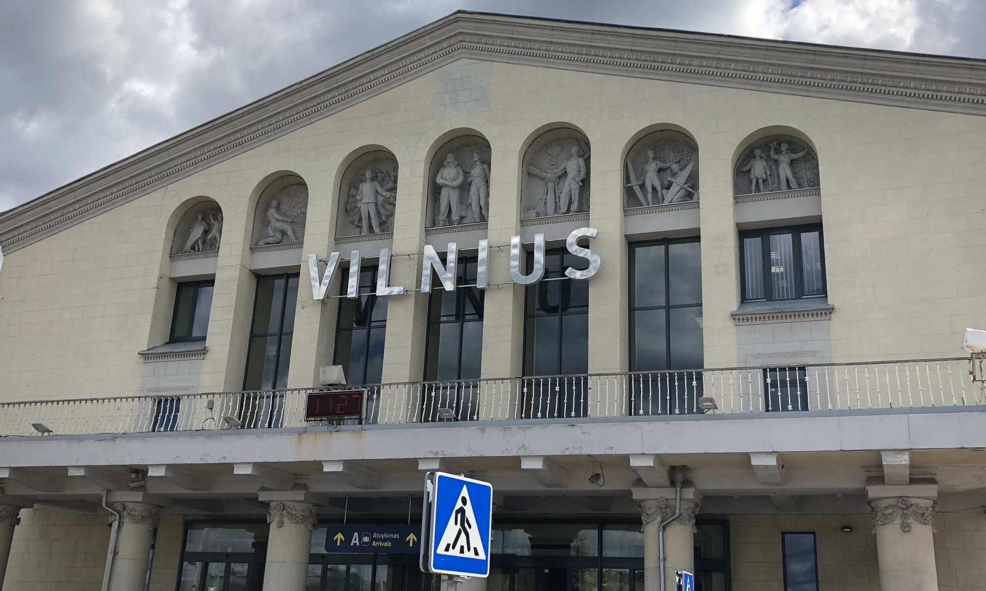 Airport, Vilnius