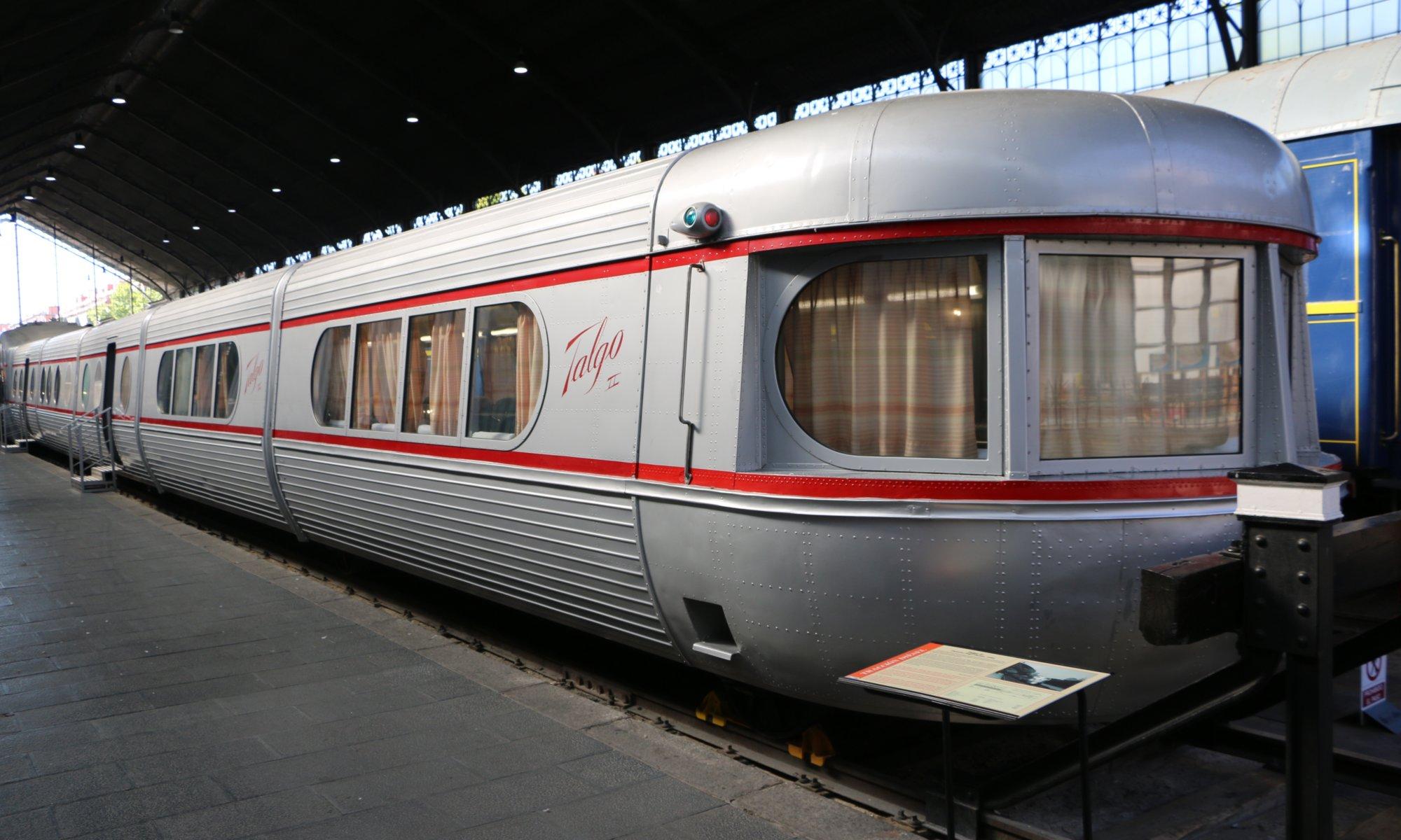 Talgo, Museo del Ferrocarril, Madrid