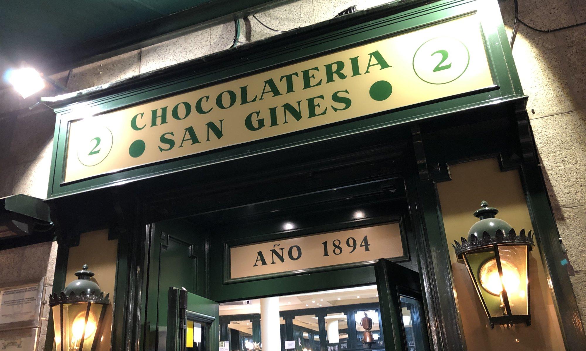 Chocolatería San Ginés, Madrid
