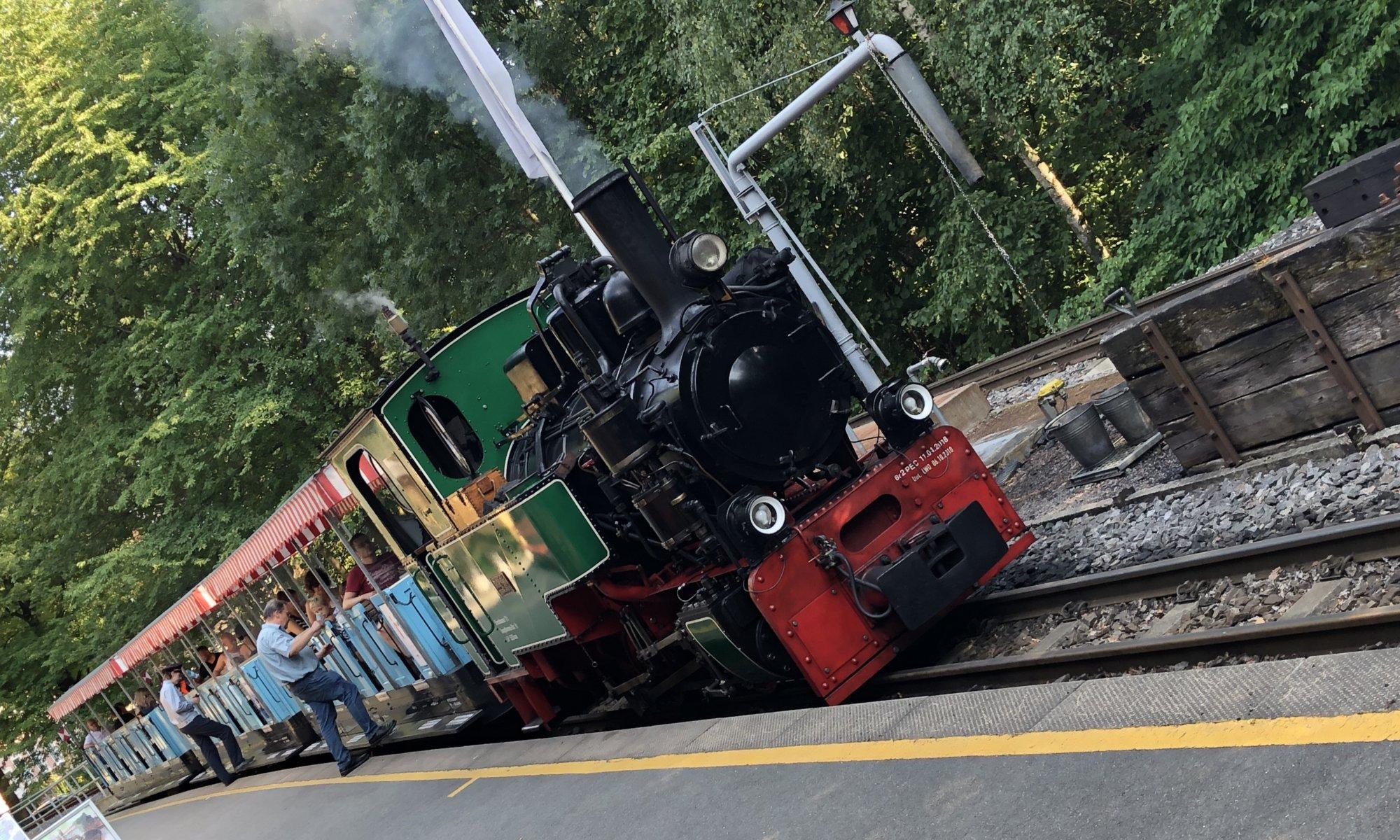 Parkeisenbahn, Chemnitz