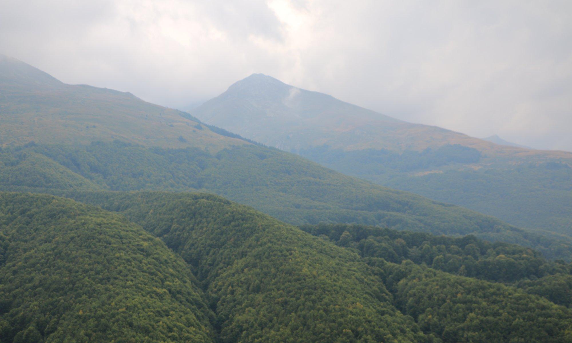 National park Malet e Sharrit, Kosovo