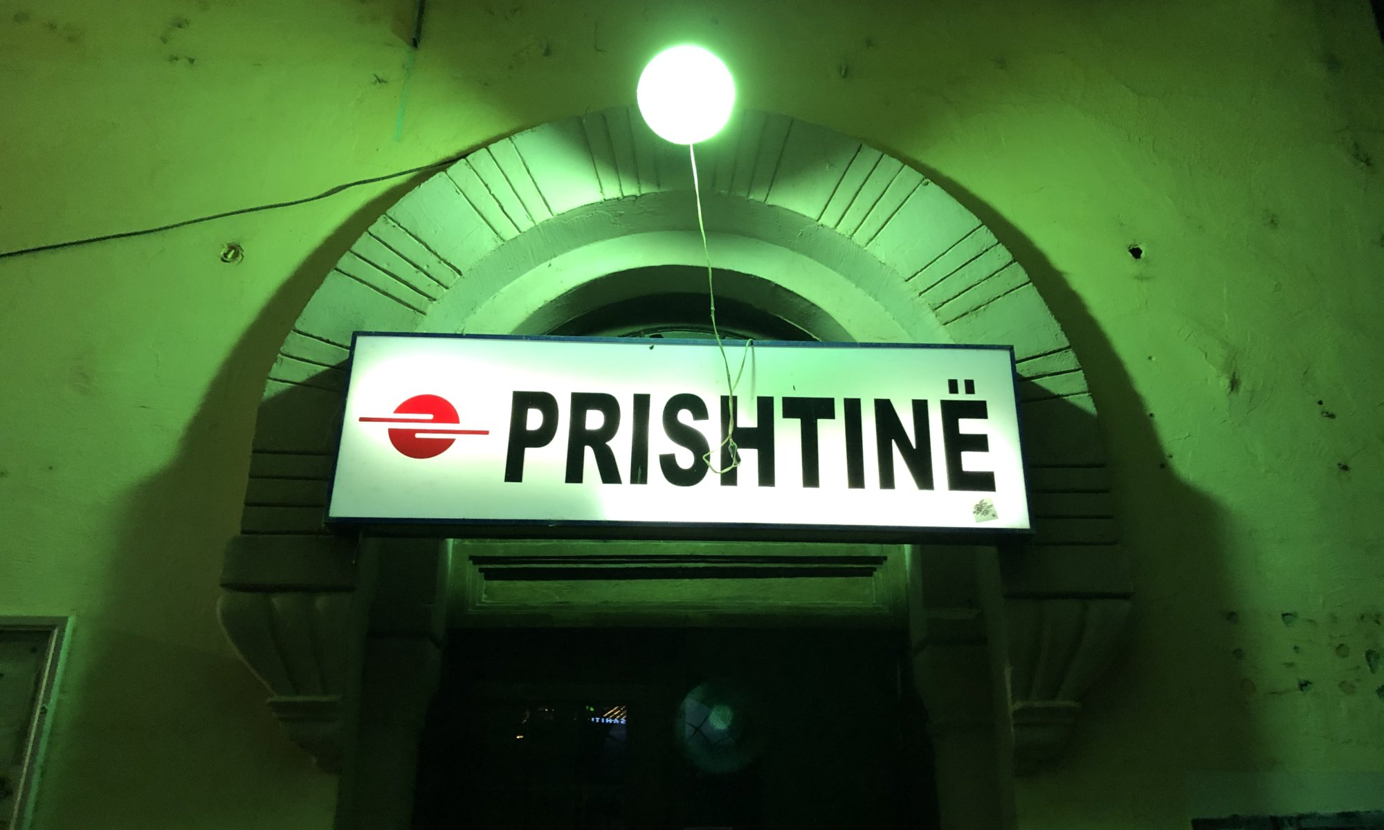 Main railway station, Prishtinë