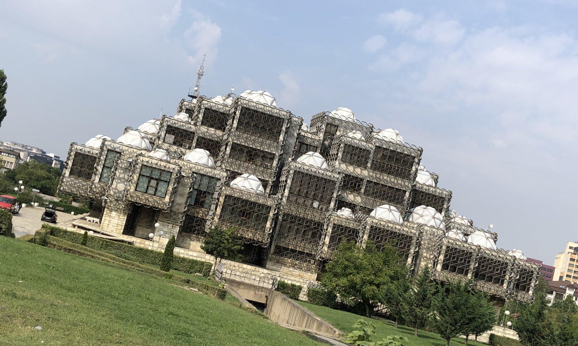 Biblioteka Kombëtare Pjetër Bogdani, Prishtinë