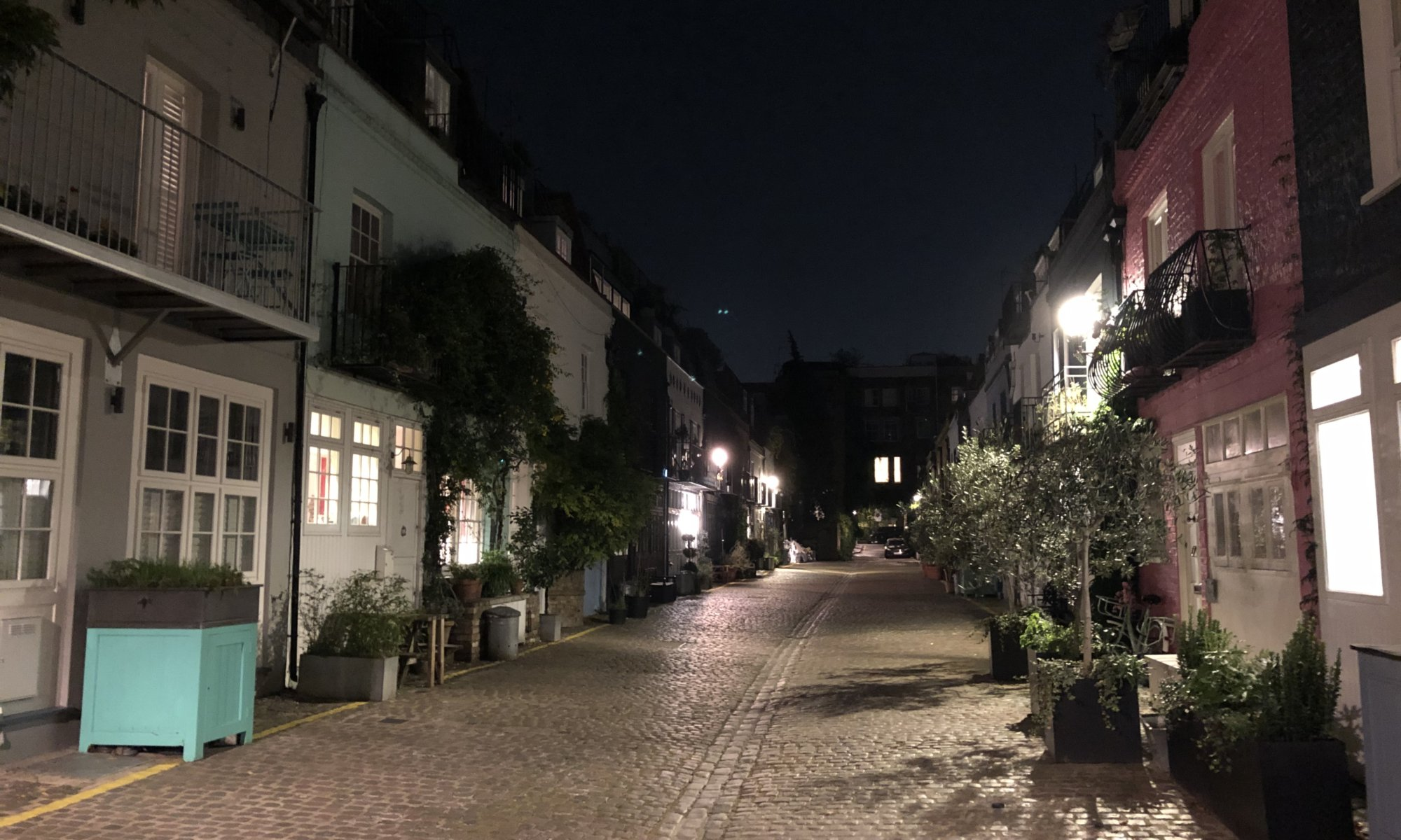 St. Luke's Mews, Notting Hill, London