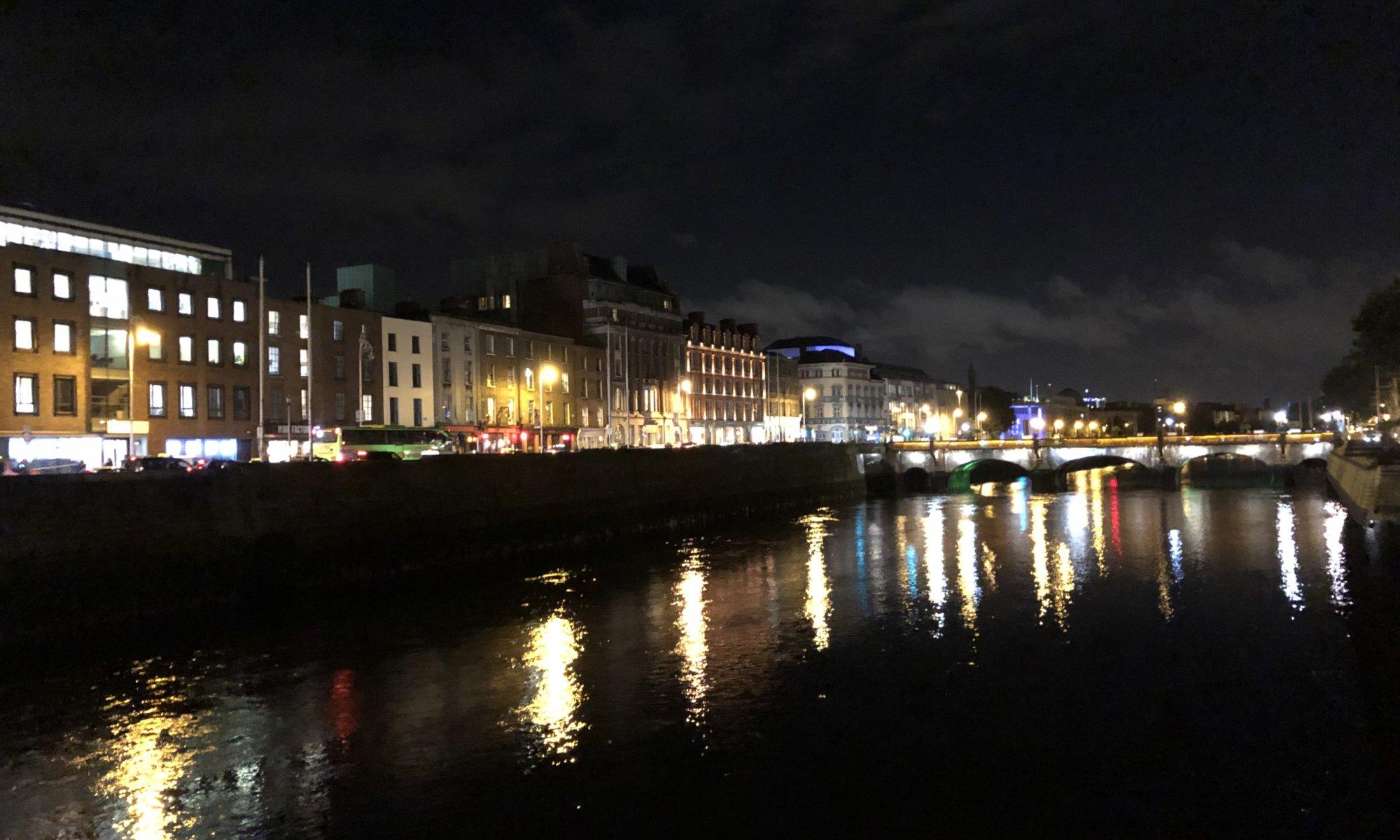 Liffey river, Dublin