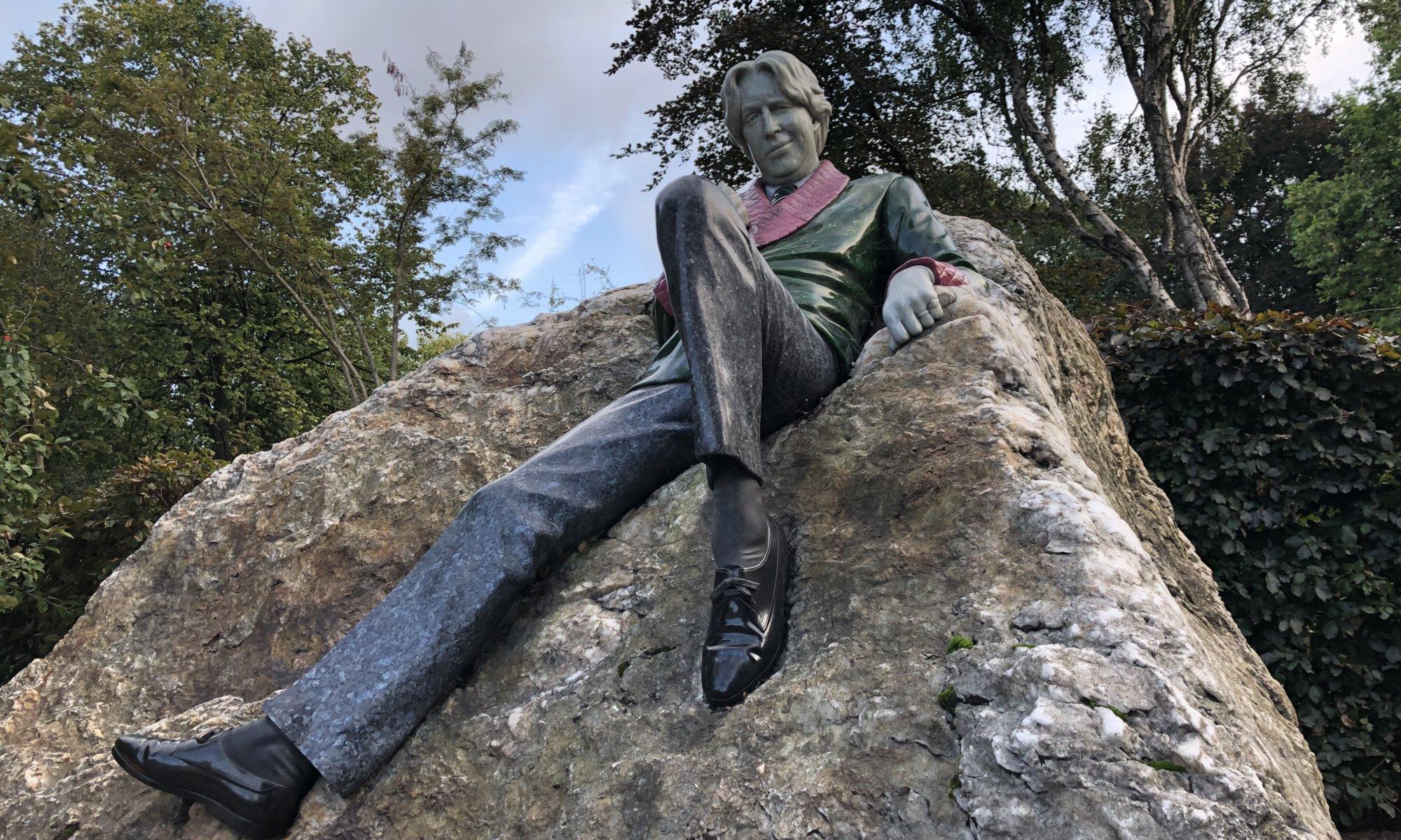 Oscar Wilde memorial, Dublin