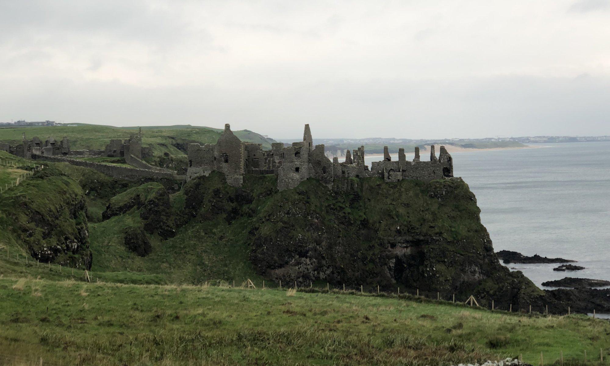 Dunluce castle, Bushmills, Northern Ireland