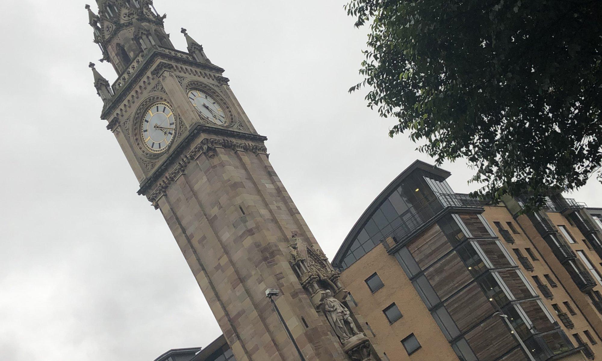 Albert memorial clock tower, Belfast