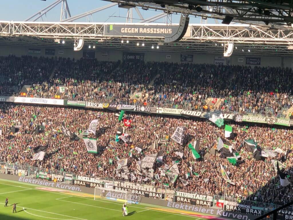 Nordkurve, Borussia-Park, Mönchengladbach