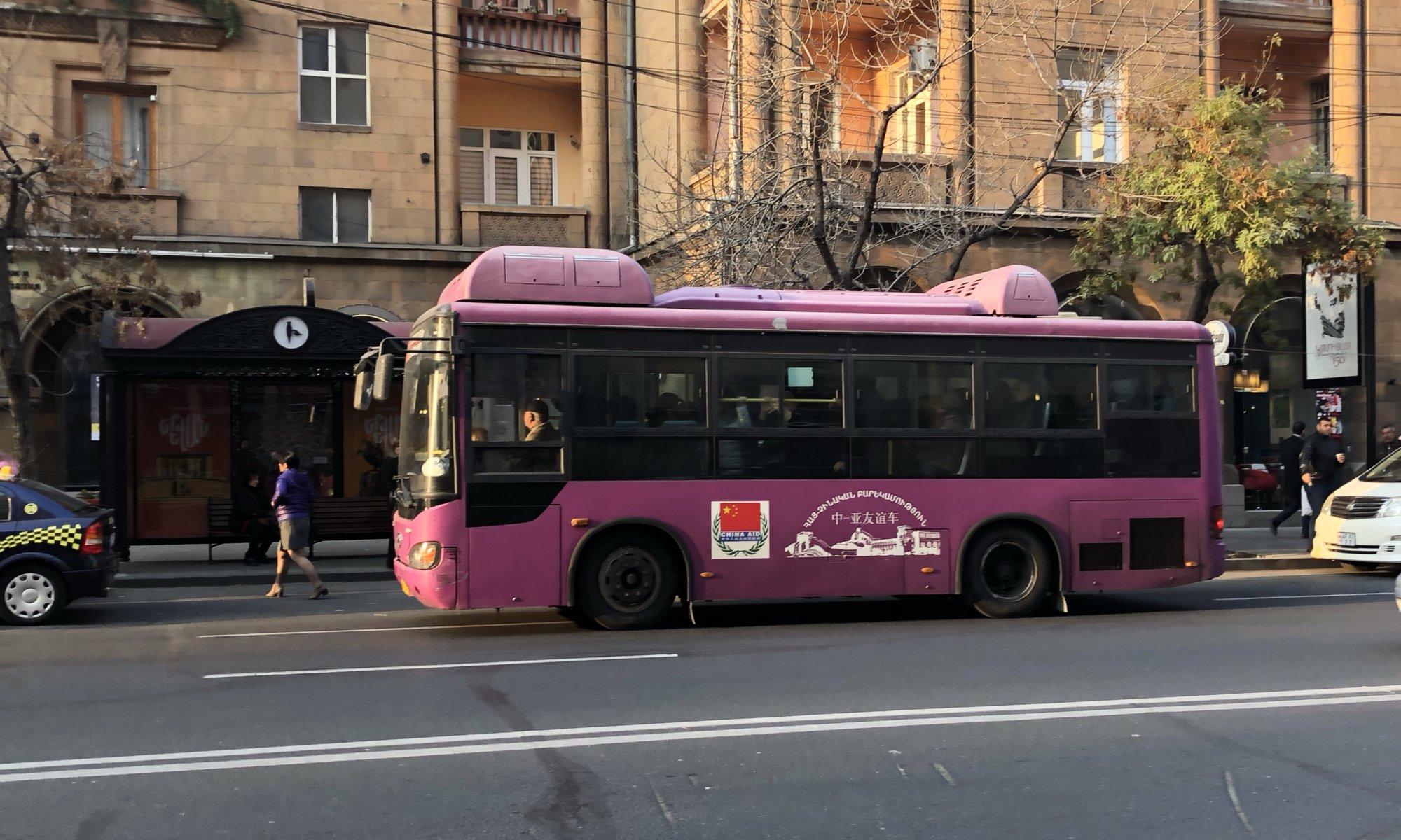 Public transport, Երևան