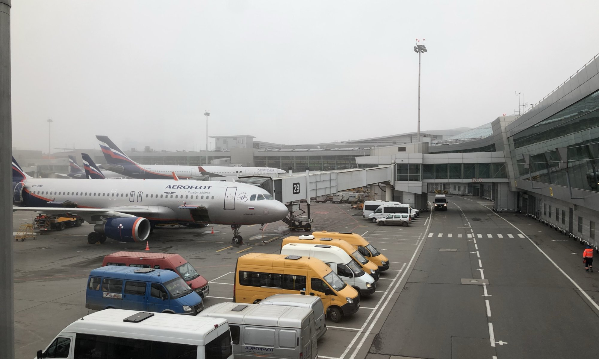 Sheremetyevo International Airport, Москва́