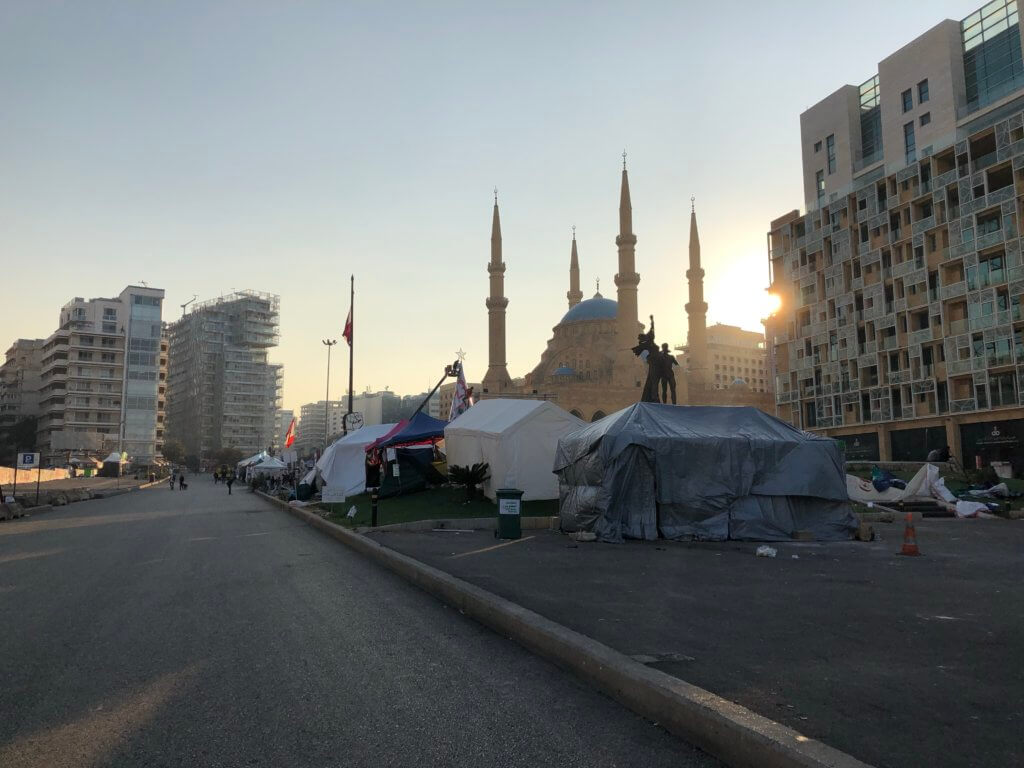 Martyr's square, بيروت
