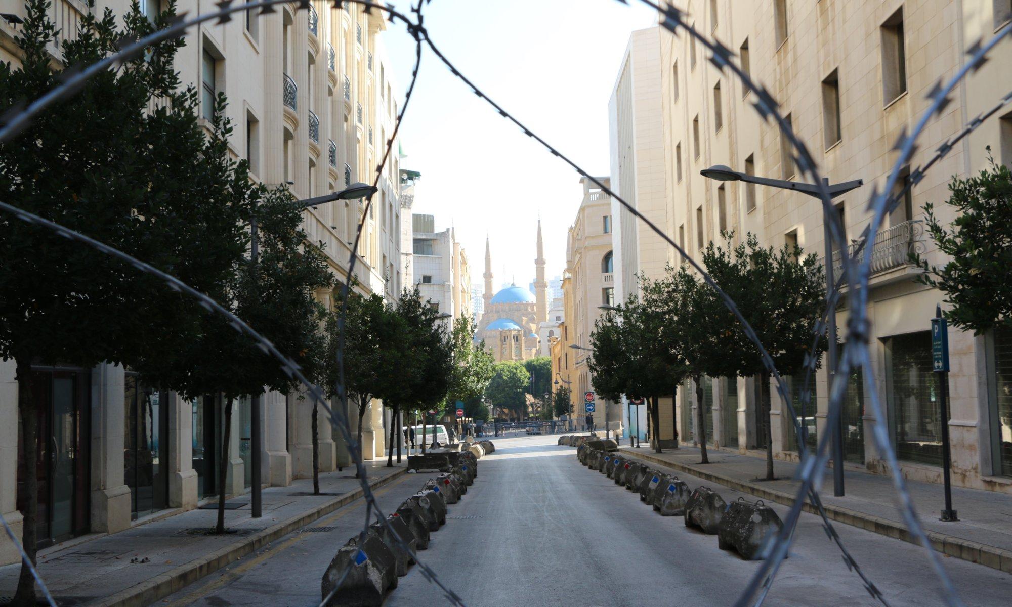 Barb wire, بيروت