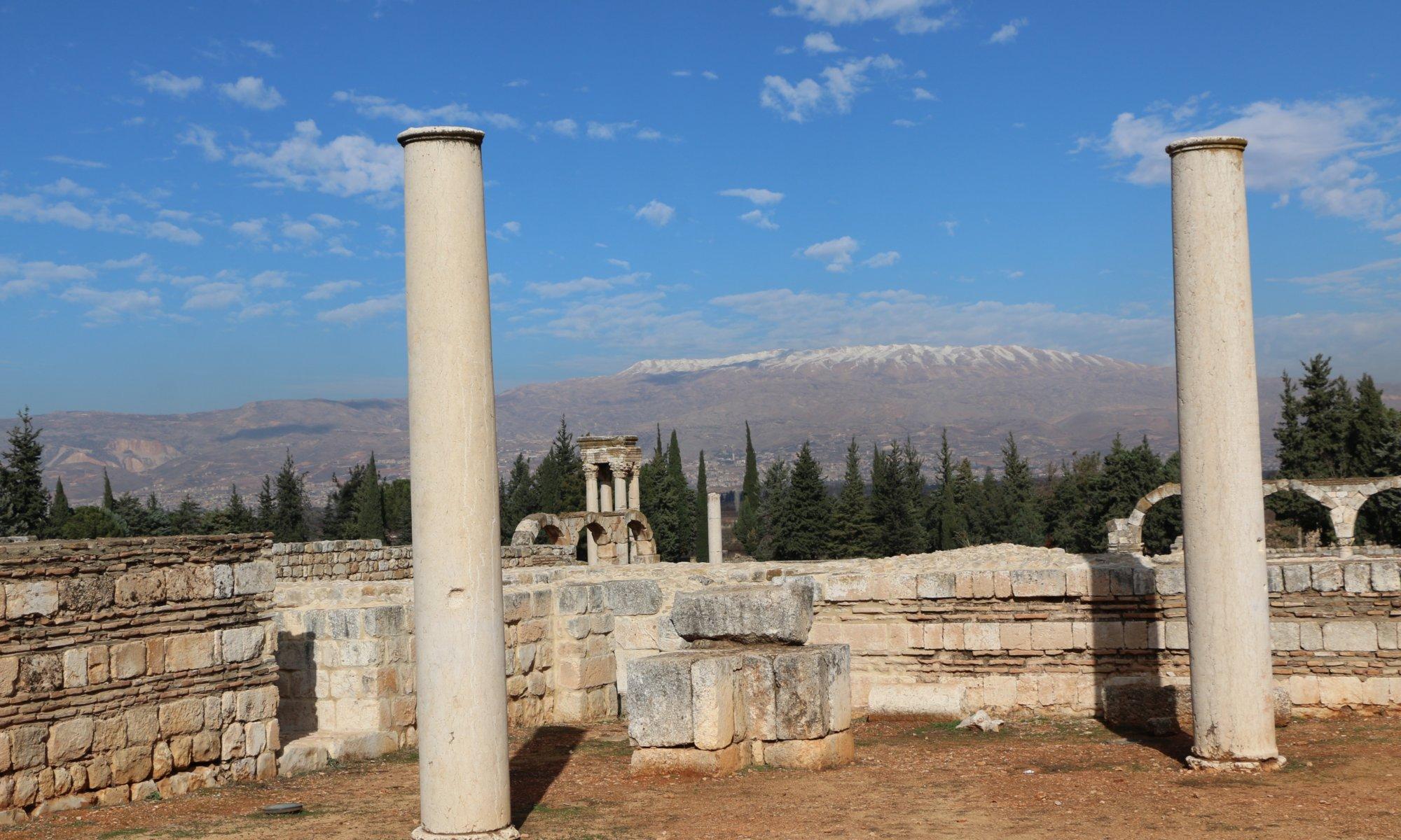 Umayyid city ruins, Anjar