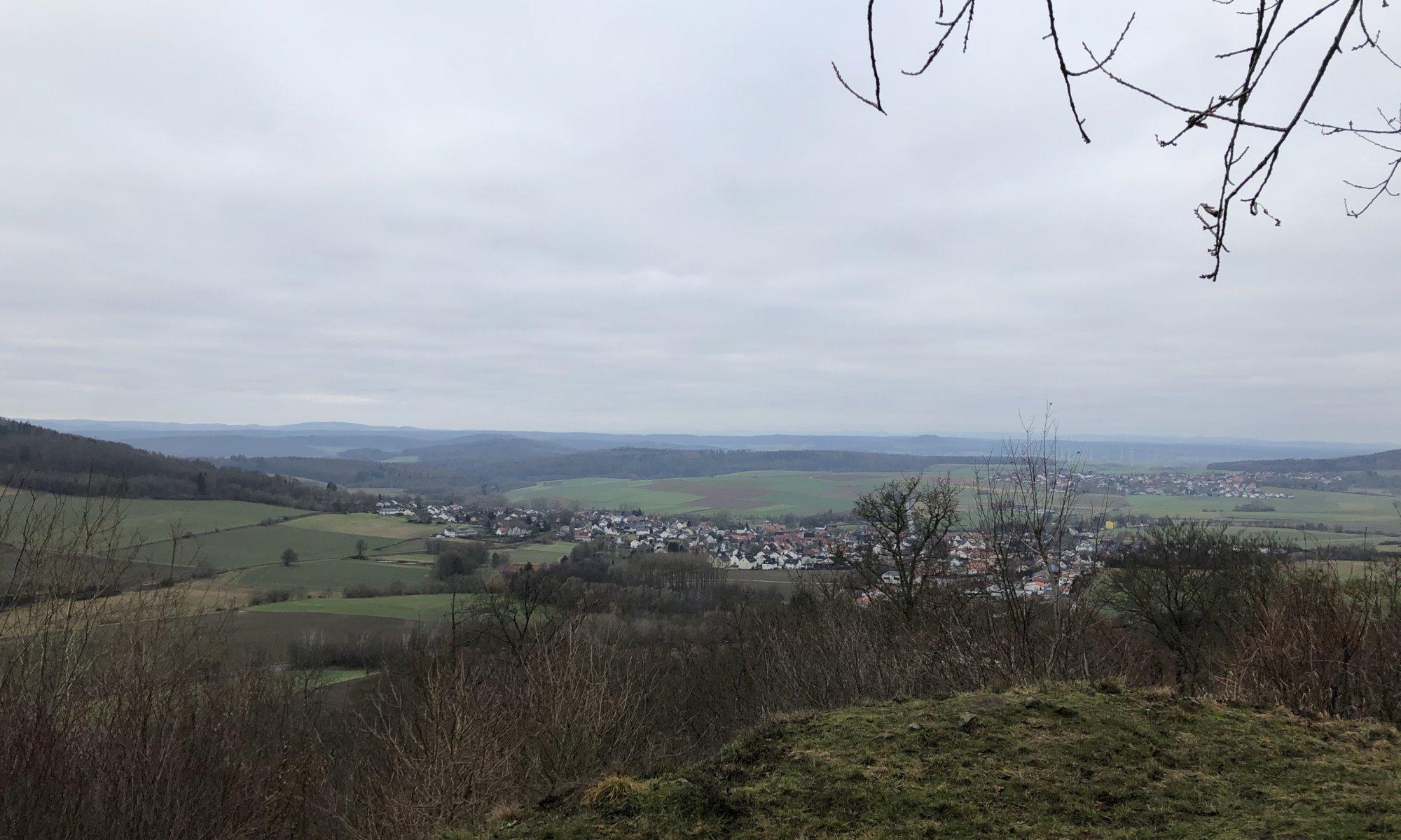 View from Burgberg, Schauenburg