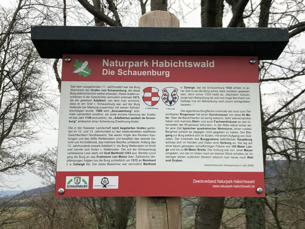 Burgruine, Schauenburg