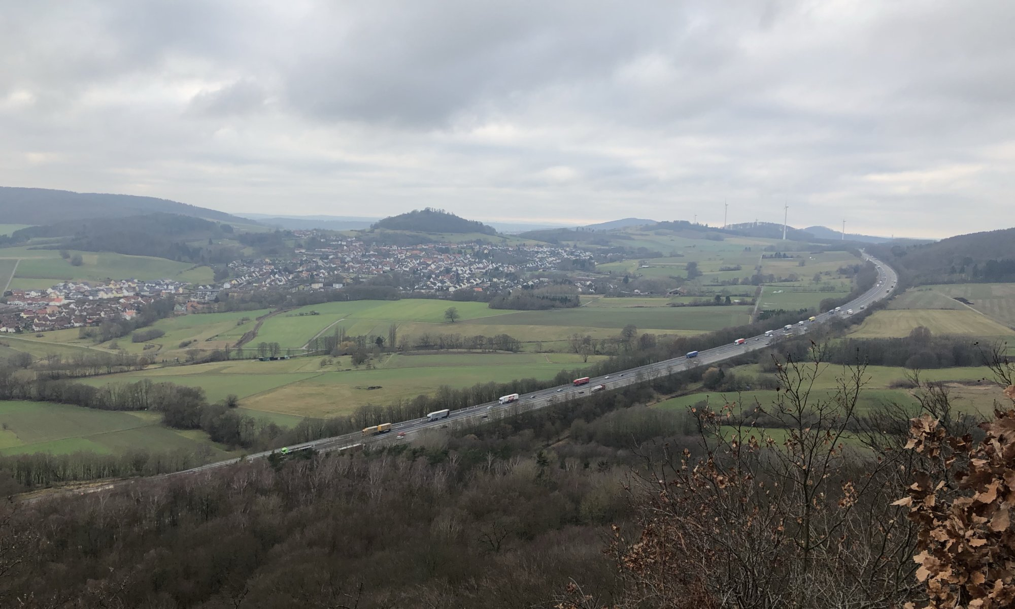 View from Hirzstein, Kassel