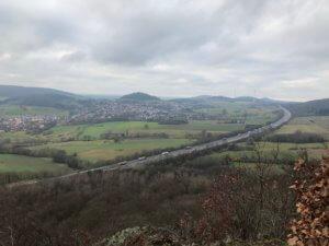 View from Hirzstein, Kassel