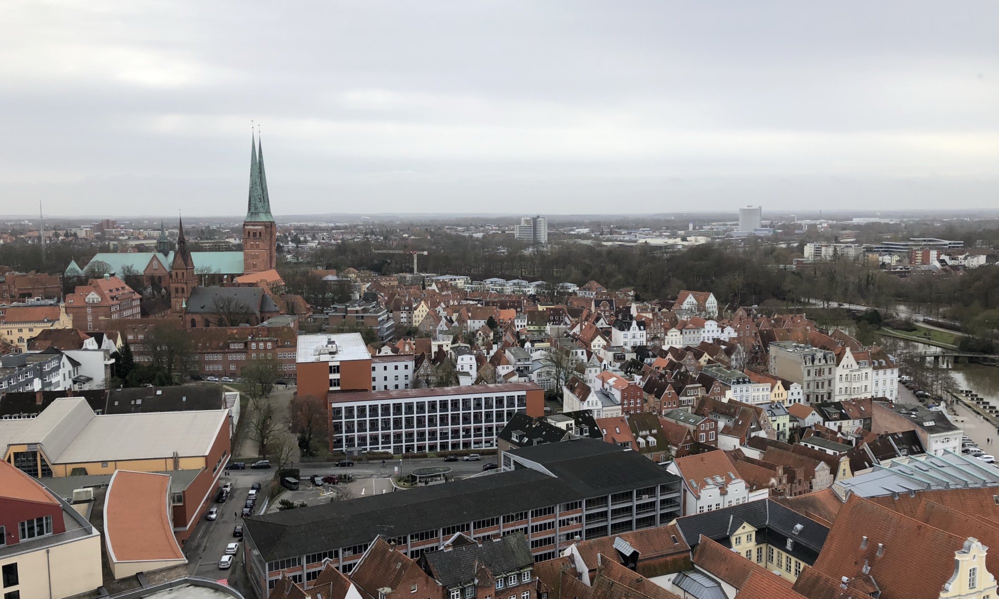 On top of St. Petri, Lübeck