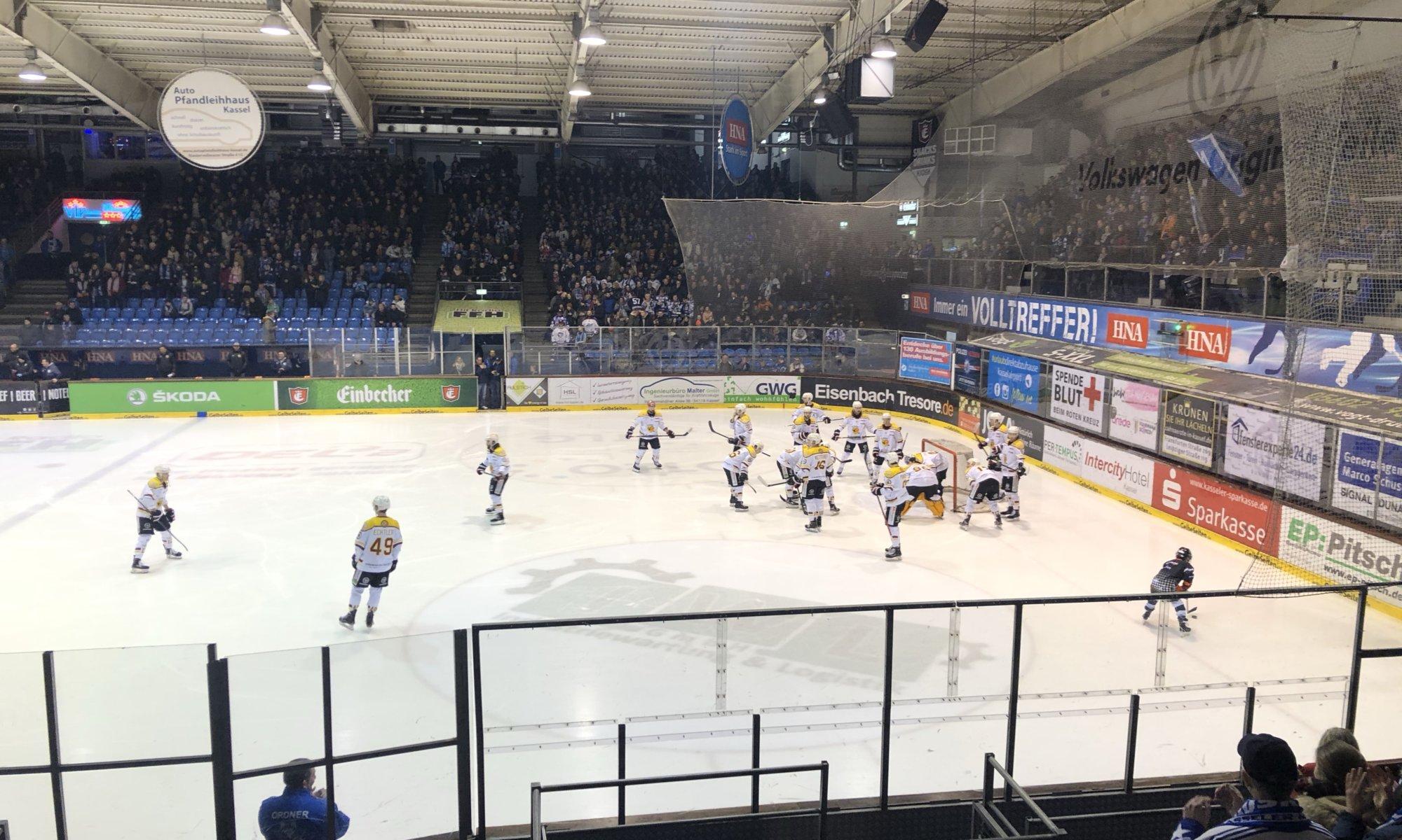 Kassel Huskies - ESV Kaufbeuren, Eissporthalle, Kassel