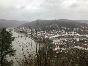 View from Hugenottenturm, Bad Karlshafen