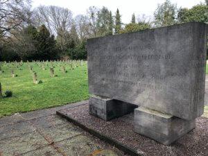 Memorial to the victims of the air-raid in 1943, Hauptfriedhof, Kassel