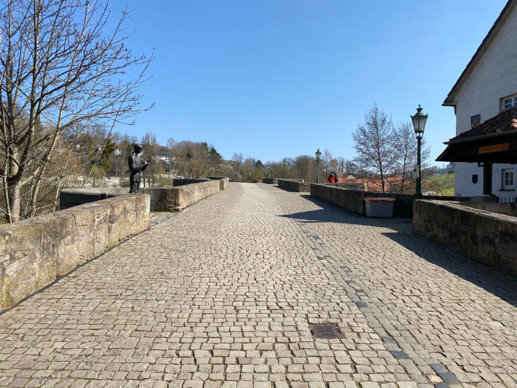 Bartenwetzerbrücke, Melsungen